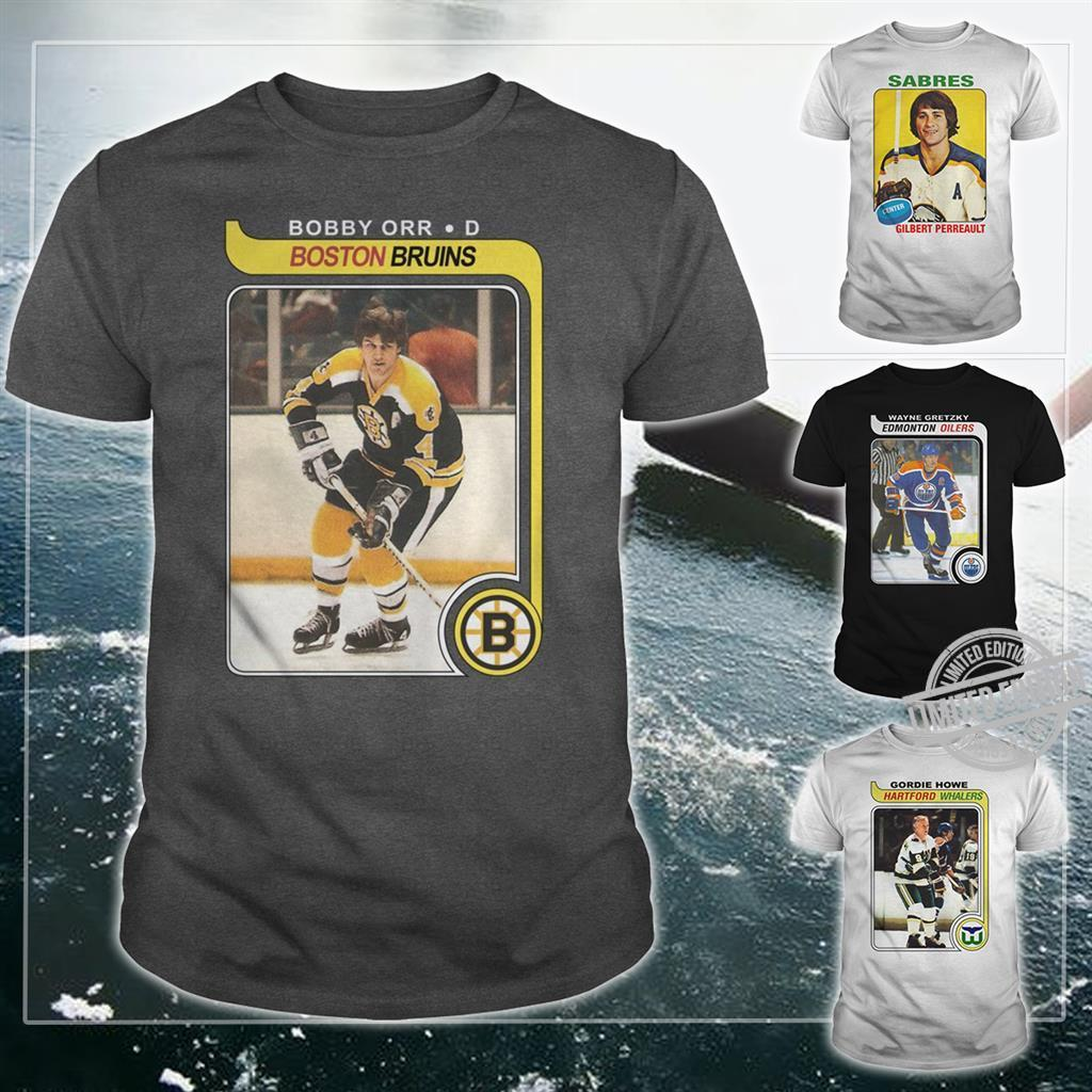 Bobby Orr Boston Bruins Shirt
