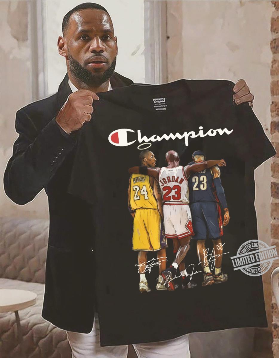 Briant Jordan James Champion Shirt