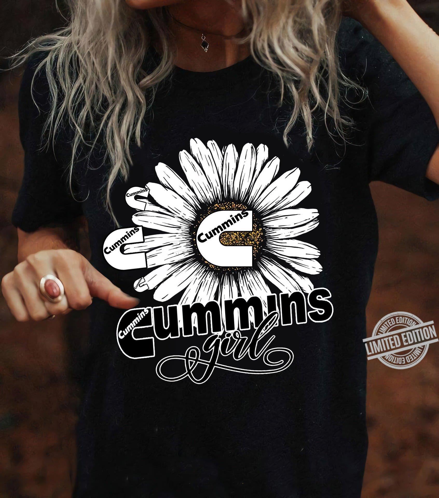 Cummins Girl Shirt