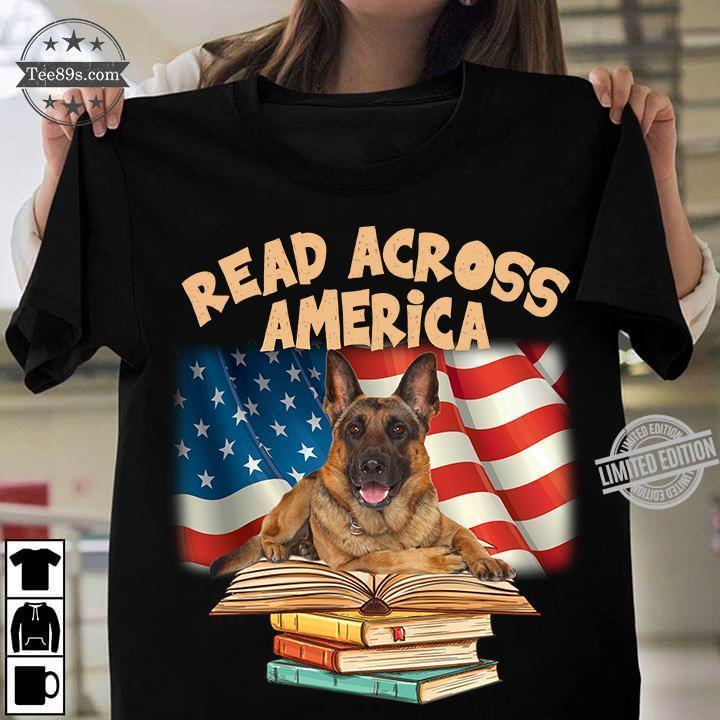 Dog And Books Read Across America Shirt