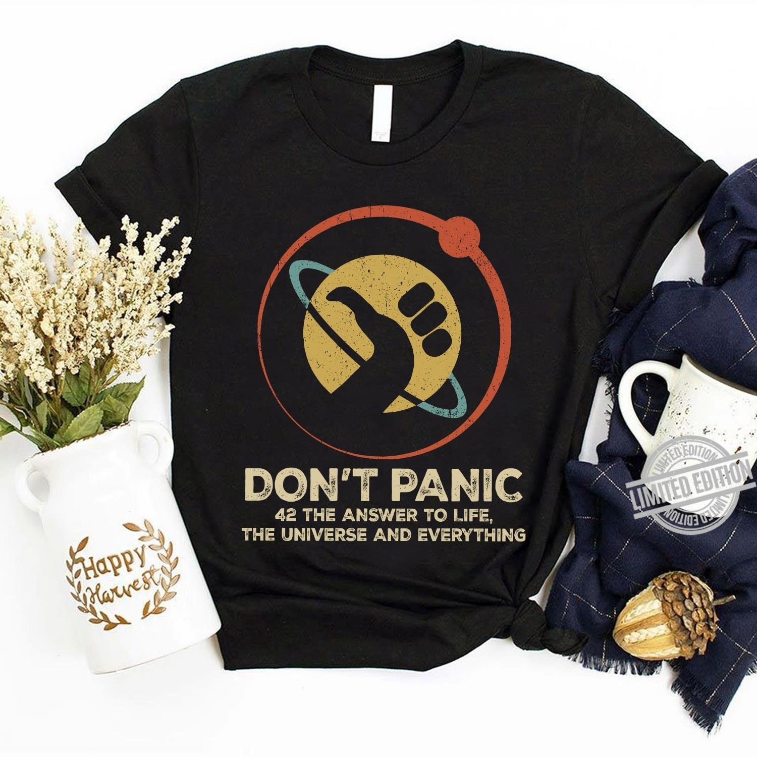 Don't Panic 42 The Answer To Life The Universe And Everything