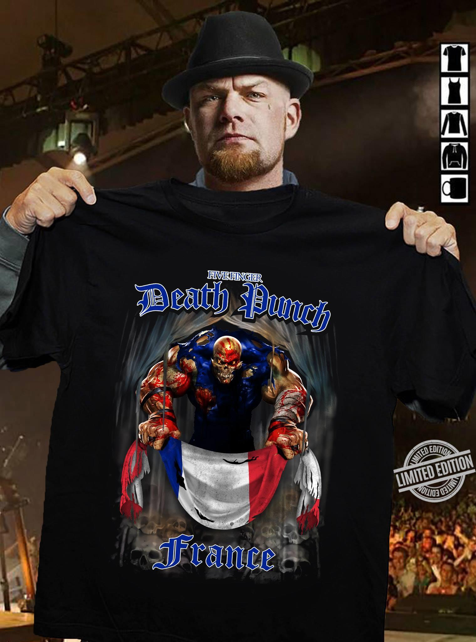 Fice Anger Death Punch France Shirt