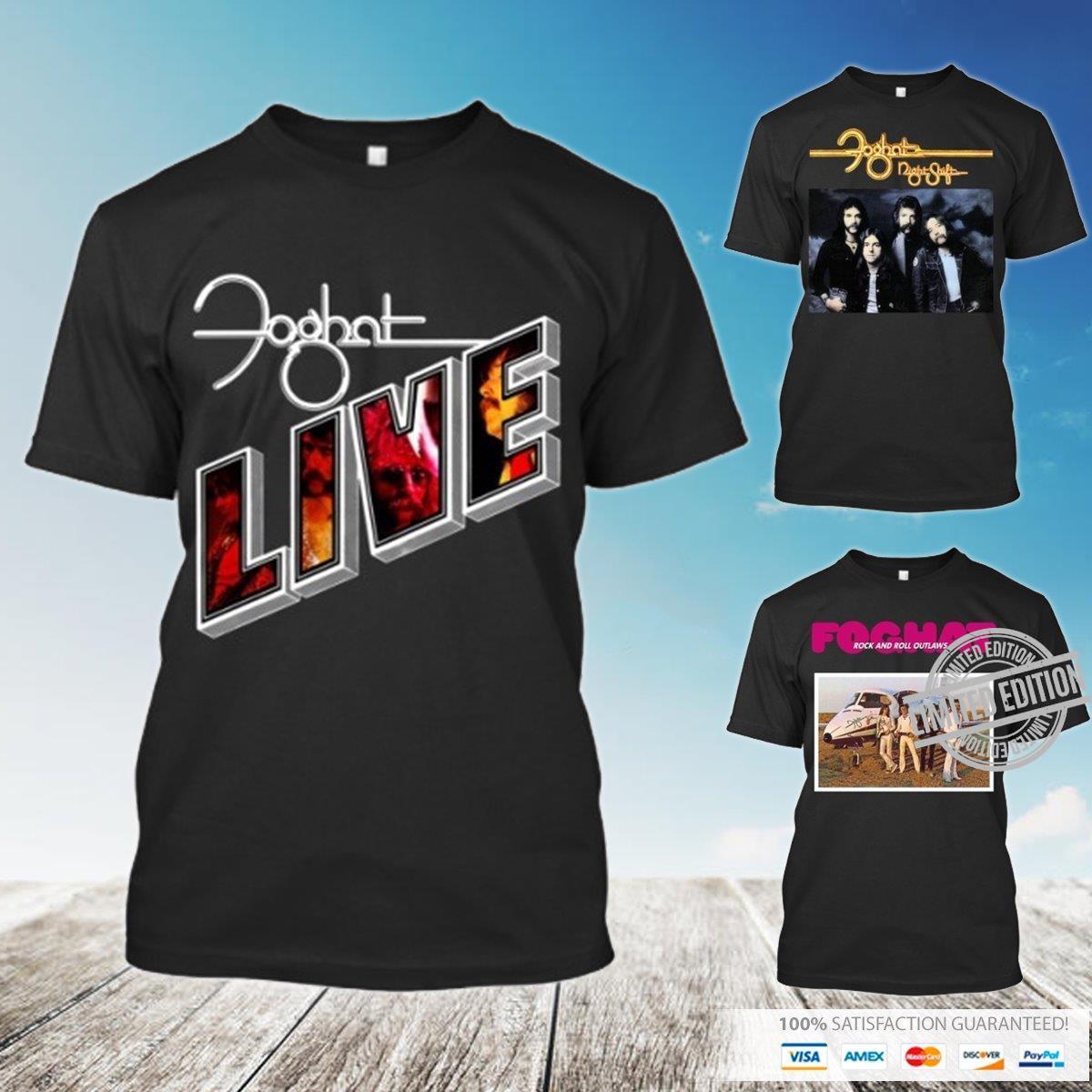 Foghat Live Shirt