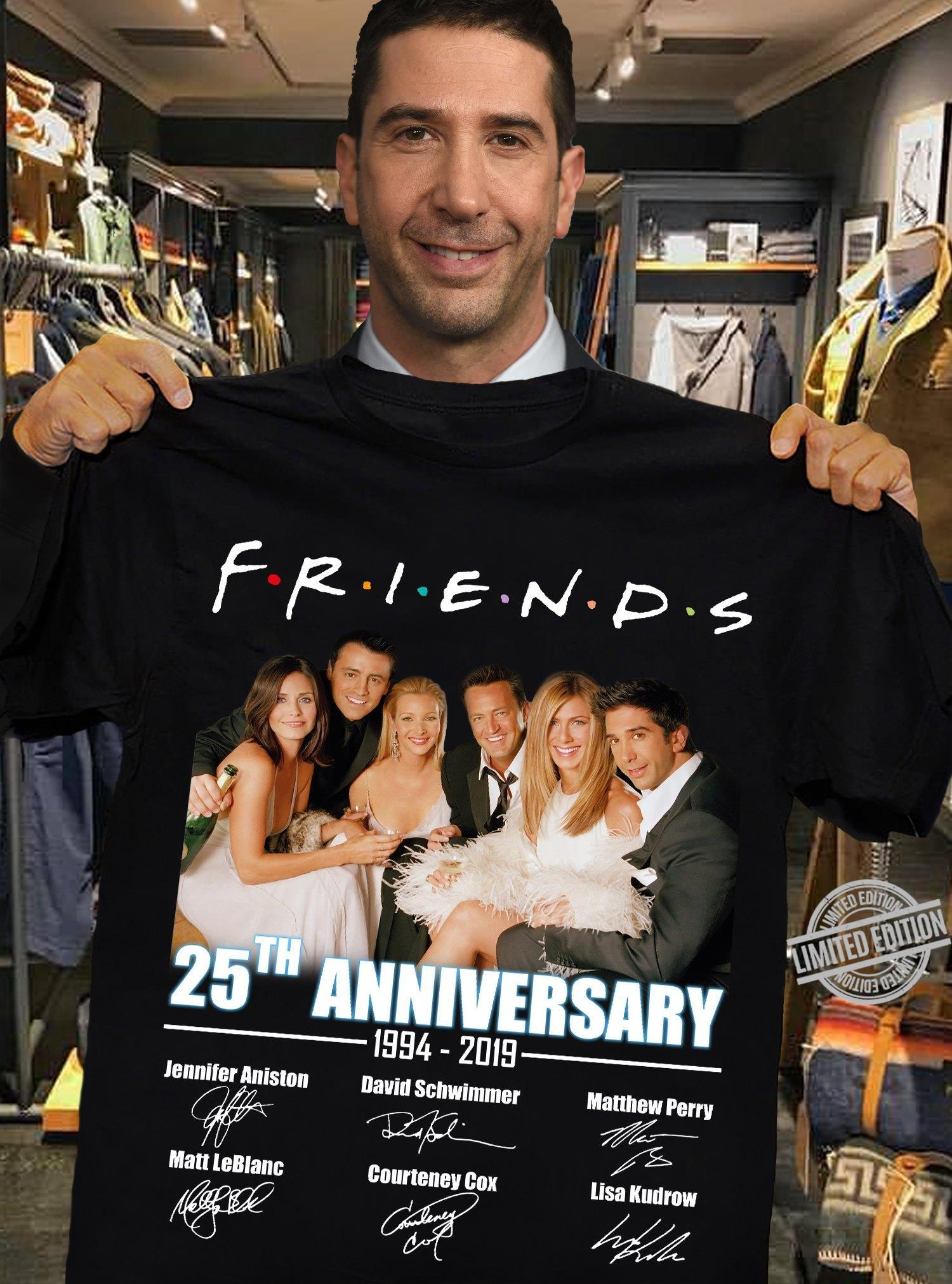 Friends 25th Anniversary 1994-2019 Shirt
