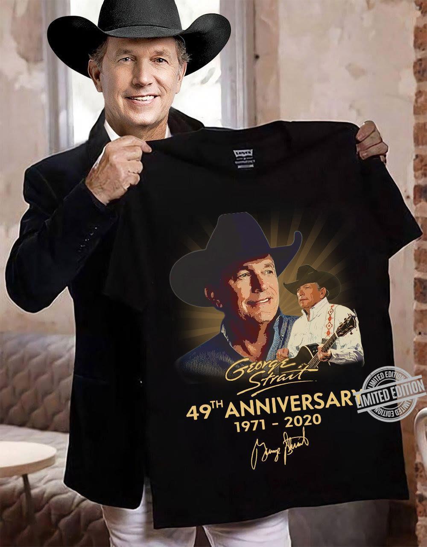 George Strait 49th Anniversary 1971-2020 Shirt
