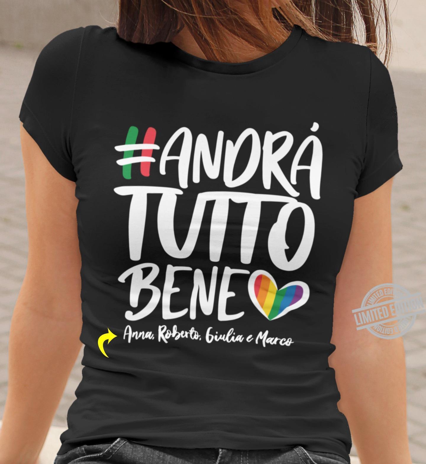 Handra Tutto Bene Anna Robert Biulia Marco Shirt