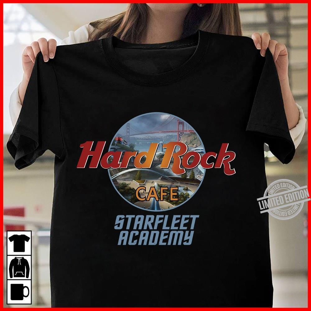 Hard Rock Cafe Starfleet Academy Shirt