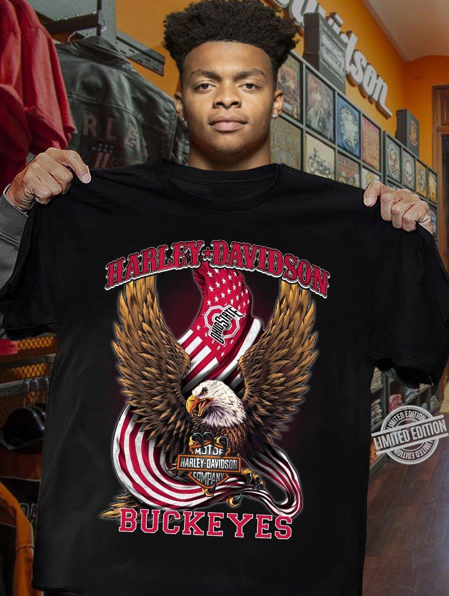 Harley Davidson Buckeyes Shirt