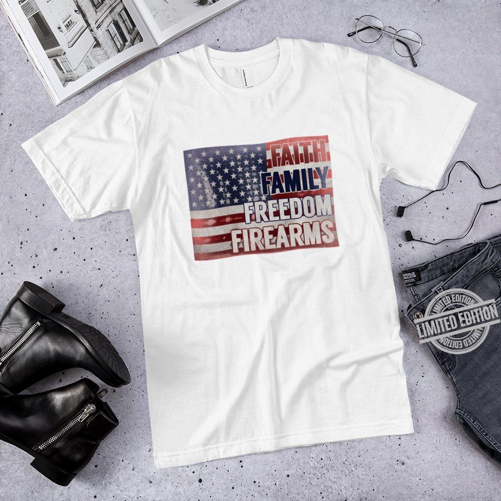 faith Family Freedom Firearms Shirt